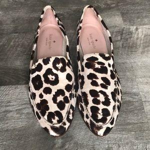 Kate Spade Animal Print Loafer. SZ 8